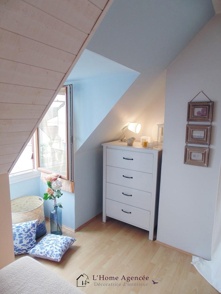 d coration d 39 une chambre coucher l 39 home agenc e. Black Bedroom Furniture Sets. Home Design Ideas