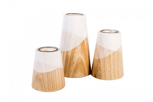 bougeoirs ETNA 99€ - woodendot - the cool republic editeur