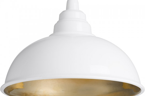 lampe suspension BOTEGA  blanc & or - enrico zanolla 292.80€ chez the cool republic