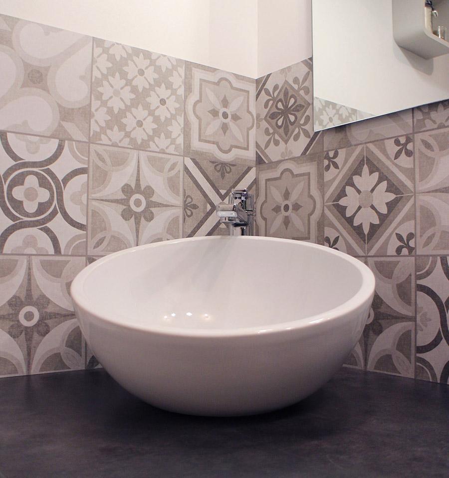 salle de bain cosy chic l 39 home agenc e. Black Bedroom Furniture Sets. Home Design Ideas