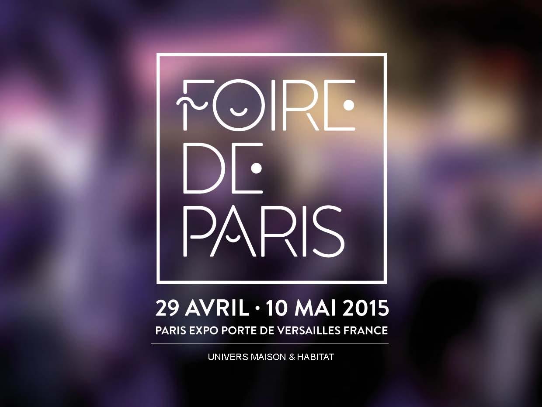 La foire de Paris – Mai 2015